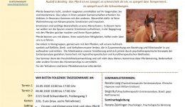 Ausschreibung Pferdegestützes Seminar_BirgitRuf