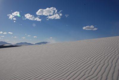 Spuren im Sand Sandra